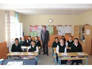 Akdağmadeni İlçe Milli Eğitim Müdürü Kardağ'dan Köy Okullarına Ziyaret