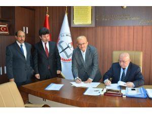 Eğitim Kursları Açılma Protokolü İmzalandı