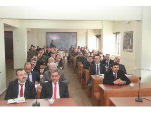 Erzincan Belediye yöneticilerine İş Sağlığı ve Güvenliği eğitimi