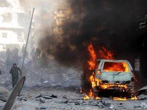 Hama'da bomba yüklü araç patladı
