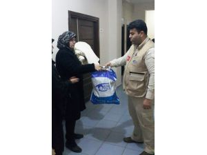 Cizre, İdil'den kaçıp Mardin'e sığınan 350 aileye Kimse Yok Mu'dan yardım