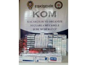 Eskişehir'de Kaçakçılık Operasyonları