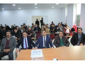 Sorgun'da Genç Girişimcilere Yönelik KOSGEB Bilgilendirme Toplantısı Yapıldı