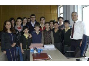 Öğrencilerden Vergi Dairesine Ziyaret
