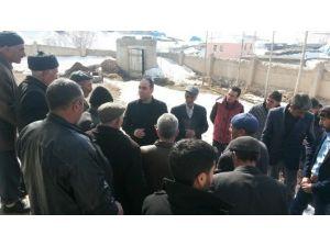 Kaymakam Çeviren Hacıhalit Köyünü Ziyaret Etti
