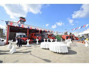 İzmir Büyükşehir'den Kemalpaşa'ya 2 milyon liralık itfaiye tesisi