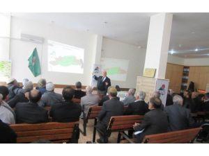 Kahta İlçesinde Leader Konulu Konferans Düzenlendi