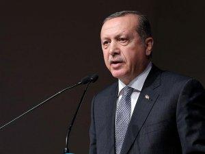 Erdoğan, Ensar Vakfı Olağan Genel Kurulu'nda konuşuyor