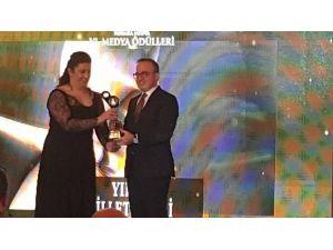 Turan'a Yılın Milletvekili Ödülü