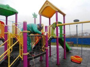 İzmit'teki Parklar Elden Geçiriliyor