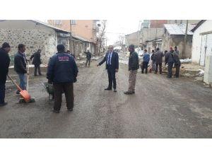 Çat Belediyesi'nde Bahar Temizliği Erken Başladı