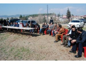 Kahramanmaraş'ta Köylülerden Mülteci Kampı Eylemi