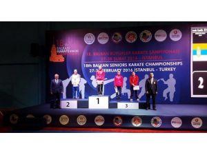 Büyükşehir Sporcusu Balkan Şampiyonu Oldu