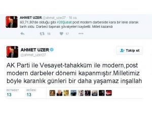 AK Partili Gaziantep Milletvekili Ahmet Uzer: