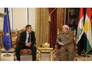 """Barzani'den uluslararası topluma """"göçmen ve mülteci"""" sitemi"""