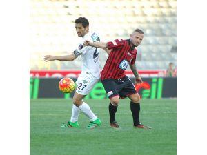 Gençlerbirliği: 0 - Akhisar Belediyespor: 1 (İlk yarı)