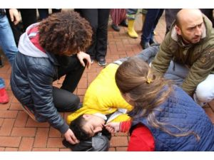 Sara Krizi Geçiren Genç Güçlükle Sakinleştirilebildi