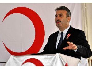 Türk Kızılayı Aydın Şube Başkanı Bekir Sıtkı Pekmezci Güven Tazeledi