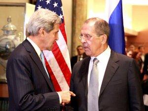 Lavrov ve Kerry çatışmaların sonlandırılması anlaşmasını görüştü
