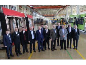 Bursa Raylı Üretimde Türkiye'nin Gururu