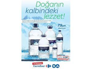 Carrefoursa'nın İçme Suyu Yenilendi