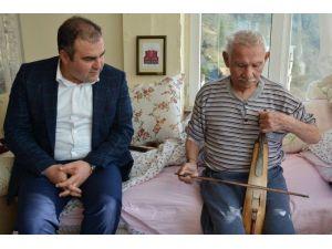 Başkan Erener'den Kemençe Sanatçısı Öztürk'e Ziyaret