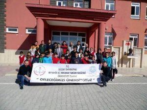 """Beyşehir'de """"Geleceğimizi Önemsiyoruz"""" Projesi"""
