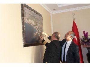 Sahil Güvenlik Komutanlarından Başkan Culha'yı Ziyaret