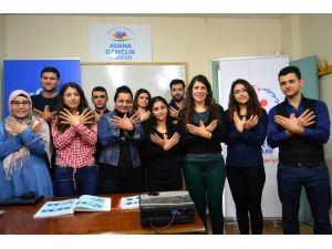 Seyhan Gençlik Merkezi'nden Ücretsiz İşaret Dili Kursu