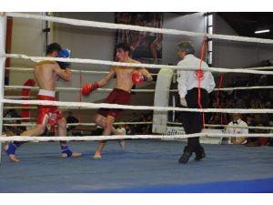 Kick Boks Turnuvası Sona Erdi