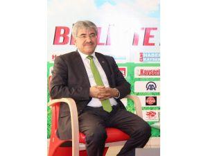 Akkışla Belediye Başkanı Ali Ergül: