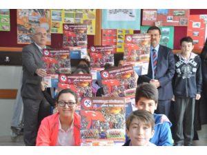 İlkokul Öğrencilerinden Kömürspor'a Duygulandıran Destek
