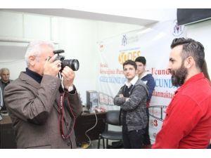 Başkan Başsoy'dan Fotoğrafçılık Kursuna Sürpriz Ziyaret