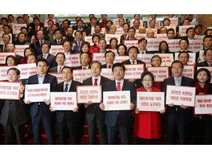Güney Kore'de iktidar, muhalefeti uzun konuşmalarından dolayı kınadı
