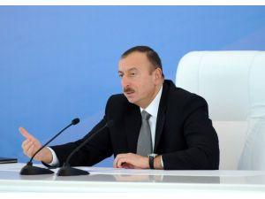 Aliyev: Güney Gaz Koridoru projesi Avrupa'nın enerji haritasını değiştirecek