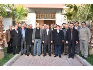 Başkan Çelik Sabah Namazını Bozköy'de Kıldı
