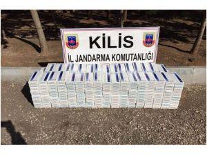 Kilis'te 10 Bin Paket Kaçak Sigara Ele Geçirildi