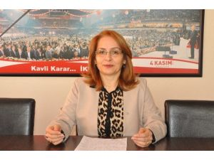MHP Kadın Kolları Başkanı Mevlüde Yalçıner, Kadın Cinayetlerine Tepki Gösterdi