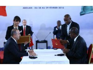 Türkiye İle Fildişi Sahili Arasında 9 Anlaşma İmzalandı