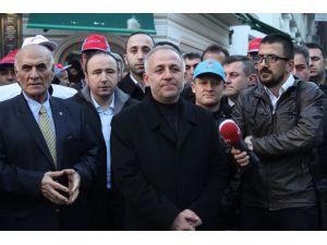 Türk-İş'ten 'kiralık işçi' protestosu