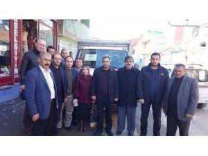 AK Parti Aşkale Kadın Kollarından Türkmenlere Yardım