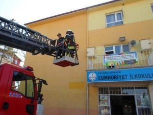 Deprem Ve Yangın Tahliye Tatbikatı