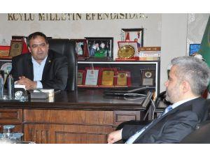 ASÜ Rektörü Şahin'den Başkan Koçak'a Ziyaret
