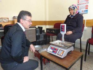 Seydişehir'de Ölçü Ve Tartı Aletlerine Denetleme