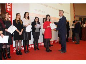 KALBİR kursuna katılıp sertifika aldılar