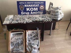 Manavgat'ta 770 Adet Gümrük Kaçağı Saat Ele Geçirildi
