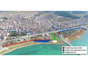 Beyşehir'de Vuslat Parkı Yolu Yayalaştırılıyor