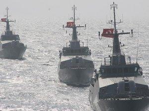 Deniz Kuvvetleri Komutanlığı'ndan taktik eğitimi