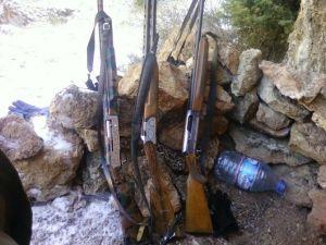 Köşk'te 16 Kaçak Avcı Yakalandı