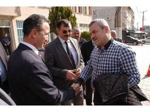 Ünal; Hanönü Belediye Başkanı Serkan Uçar'ı Ziyaret Etti